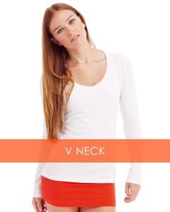 LI_V Neck_Ladies Long Sleeve